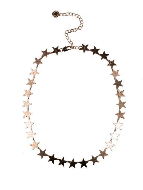 IRIS ROW OF STARS CONSTELLATION NECKLACE ROSE GOLD